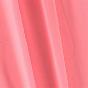 Chiffon Solid Neon Pink - Discount Designer Fabric ...