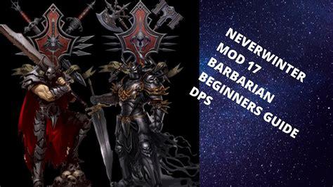 neverwinter barbarian mod