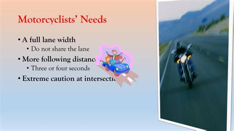 Watch For Motorcycles Powerpoint Presentation