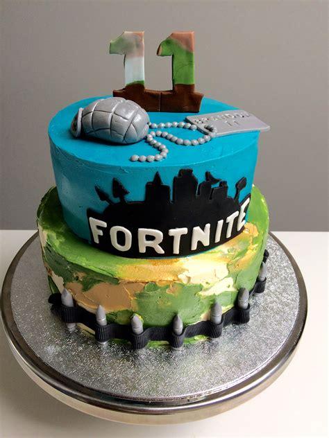 fortnite creme taart fornite cakes  cake birthday cake