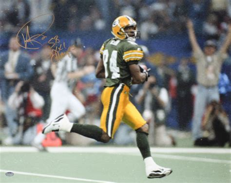 Andre Rison Signed Packers Super Bowl Xxxi 16x20 Photo