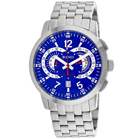 Roberto Bianci Men's Lombardo Blue Dial Watch - RB70963 ...