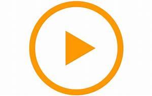 video play icon large orange - Wedding Photographer in ...