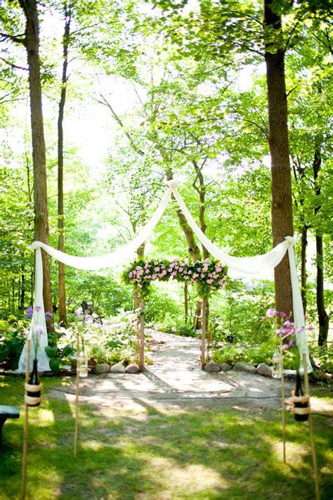 Bohemian Backyard Wedding by Ohio Outdoor Wedding Ceremony Boho Weddings For The Boho