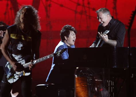 metallica  grammys  band plays   pianist