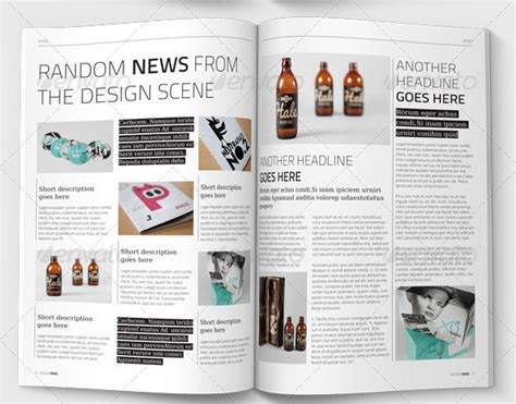 new design magazine 10 useful lifestyle indesign magazine templates design freebies