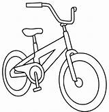 Coloring Bike Pages Bikes Draw Printable Bicycle Colouring Cycling Sheets Preschool Drawing Simple Clipart Boys Colors Cliparts Kid Bicycles Library sketch template