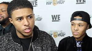 """Diggy Simmons & Russell Simmons II interview """"Growing Up ..."""