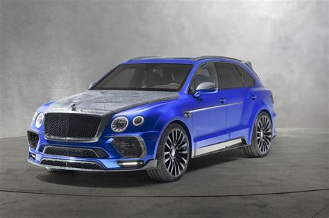 Modifikasi Bentley Bentayga by Modifikasi Eksterior Bentley Bentayga Bluerion Edition