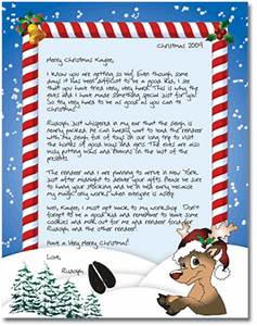 holiday giveaway magical santa letters ended With personalized letter from santa claus from rudolph express
