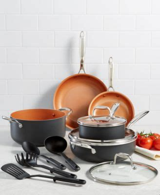 cuisinart chefs classic stainless steel octagonal hanging pot rack cookware cookware sets