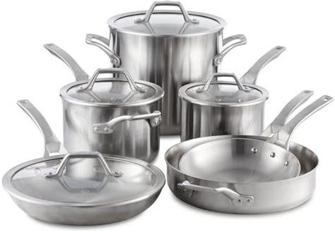 calphalon signature cookware set reviews