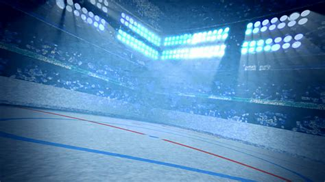 Hockey Background Hockey Arena Background Loop Stock Footage