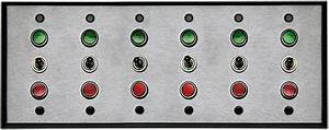 3105  Sxg333333 Spdt  120vac  6 Gang Switch  6