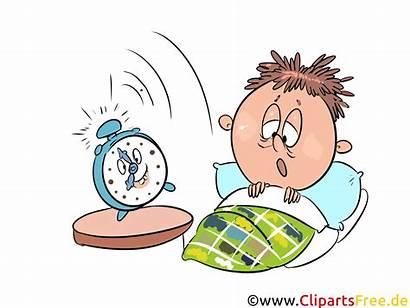 Aufstehen Clipart Wecker Aufwachen Schule Bild Sleep