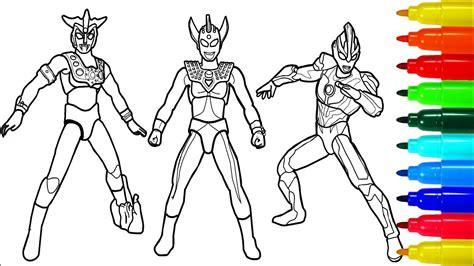 Ultraman Leo Ginga Taro Coloring Pages
