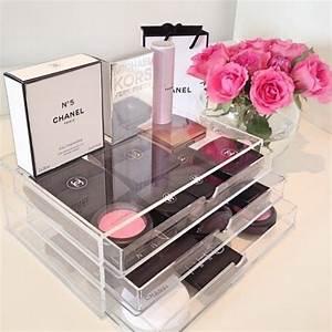 Boite De Rangement Maquillage : rangement maquillage de 60 id es g niales copier ~ Dailycaller-alerts.com Idées de Décoration
