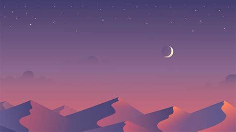 scenic landscape illustrations  vibrant colors