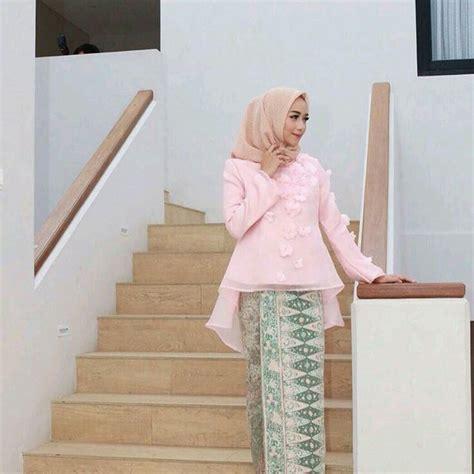 Baju Hamil Kebaya Modern Model Peplum Bahan Organdi Specialist