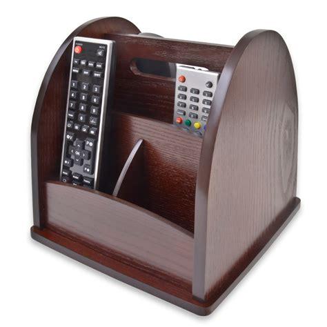 remote holder for revolving tv remote holder organiser wood wooden