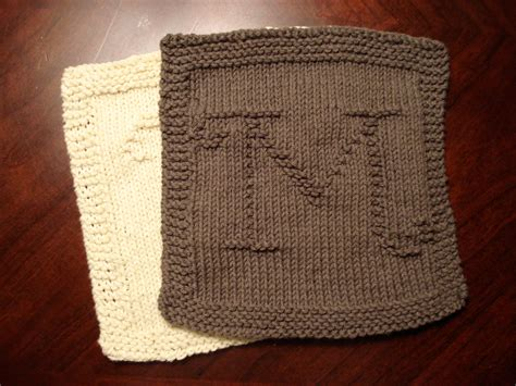monogrammed dishcloths  heather kate