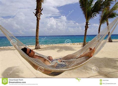 Relaxing In A Hammock by Relaxing In A Hammock Stock Photo Image Of Sleeping