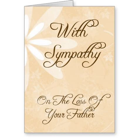 sympathy quotes  father quotesgram