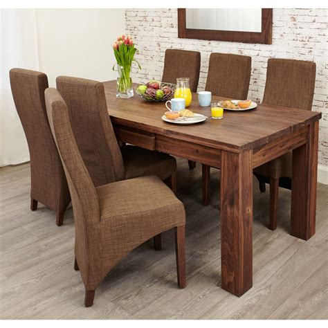 Extended Dining Room Tables by Linea Solid Walnut Furniture Large Dining Room Extending