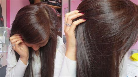 dye black hair  brown  bleaching