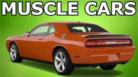 muscle cars   youtube