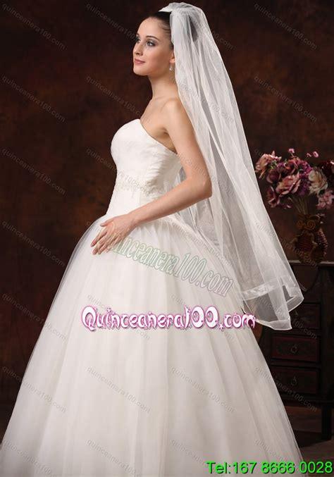 Beautiful Organza Bridal Veil For Wedding Quinceanera 100