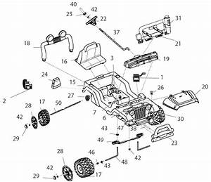 Power Wheels Dora Jeep Wrangler Parts