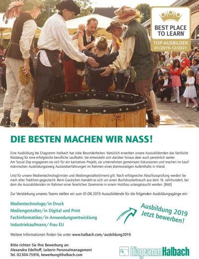 ausbildungsplätze 2019 nrw industry work industrie in nrw ist spannend azubis gesucht bei halbach