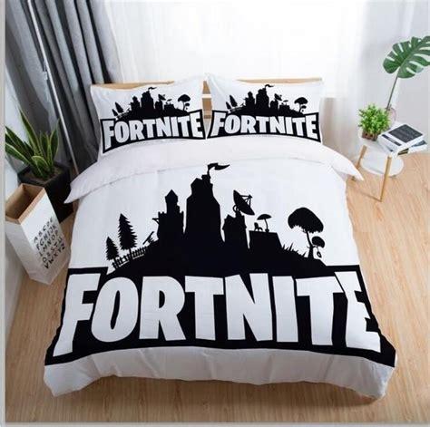 fortnite  game bedding set print duvet cover set