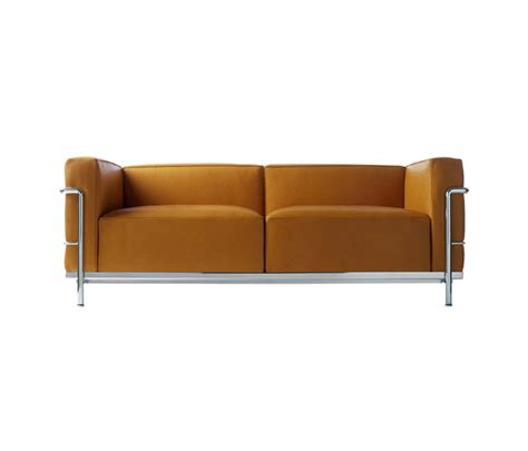 le corbusier canapé lc3 de cassina canapé fauteuil méridienne