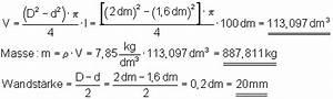 Volumen Berechnen Liter : l sungen volumen und massenberechnung i ~ Themetempest.com Abrechnung