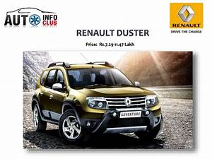 Renault Duster Price  Specifications  Interior  U0026 Exterior By Auto Inf U2026