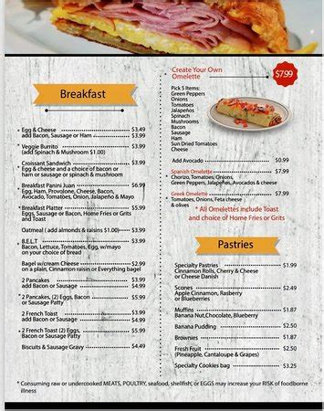 5,898 likes · 30 talking about this · 301 were here. Breakfast Menu - Picture of Ellies Coffee Shoppe, Concord - Tripadvisor