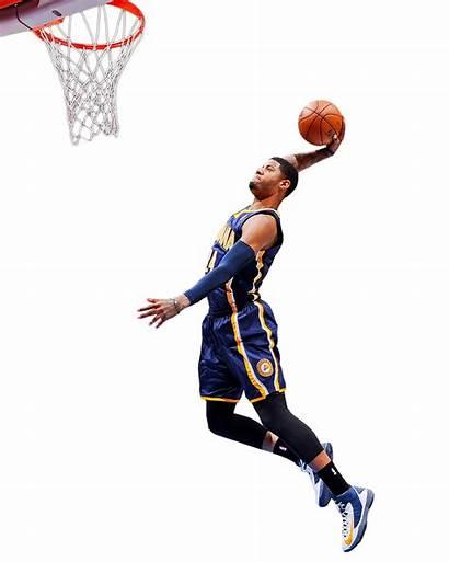 Basketball Nba Dunk Player Clipart Transparent Pacers