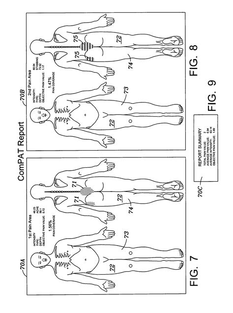 Wound Assessment Diagram by Patent Us8046241 Computer Assessment Tool
