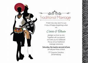 zulu wedding downloadable south african zulu traditional With xhosa traditional wedding invitations