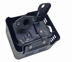 Stock Muffler For 6 5 Hp Clone    Gx 160 Or Gx200 Engine