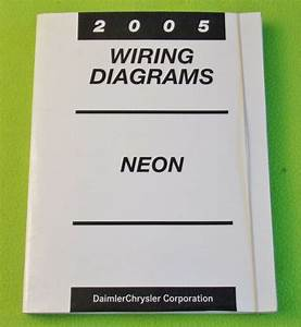 2005 Dodge Neon Factory Dealer U0026 39 S Wiring Diagrams Manual