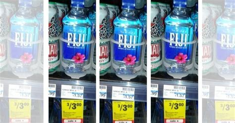 Fiji Water Singles Only $0.50 at CVS!Living Rich With Coupons®