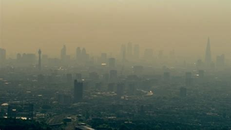 london highest nitrogen dioxide levels europe london itv news