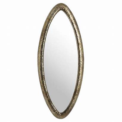 Mirror Bronze Oval Wall Hammered Baytree Interiors