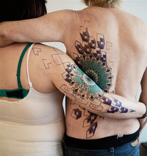 Amazing Photographs Of Couple Tattoos  Incredible Snaps