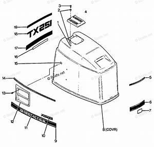 Mercury Force Outboard Parts By Hp  U0026 Serial 125hp Oem