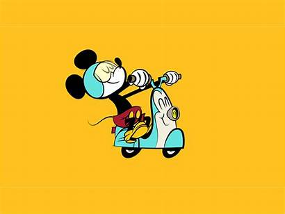 Mickey Mouse Dribbble Animation Tweet Copy Motion