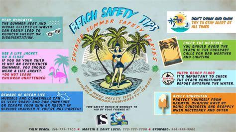 beach safety tips summer shiner safety series shiner